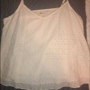 cream spaghetti strap tank top from Hollister!!!